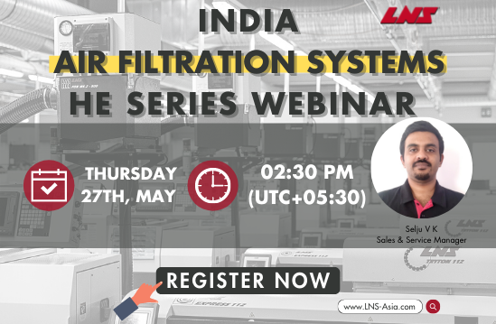 INDIA AIR FILTRATION SYSTEMS – HE SERIES WEBINAR
