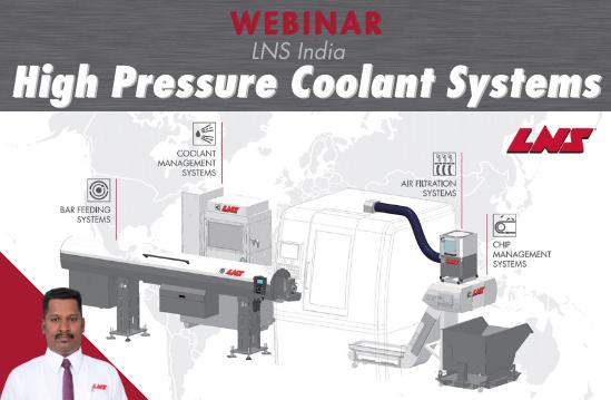 INDIA WEBINAR: High Pressure Coolant Systems